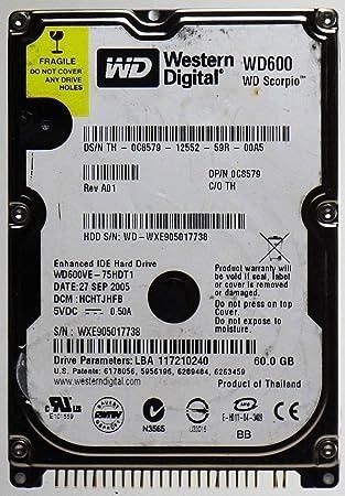 WD Scorpio hard drive