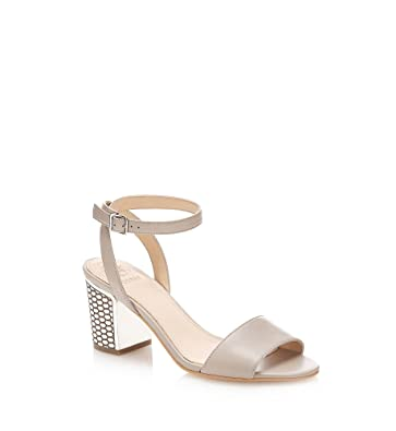 Sandales à talons Guess ref_guess42695-cream WIRfE5jLk
