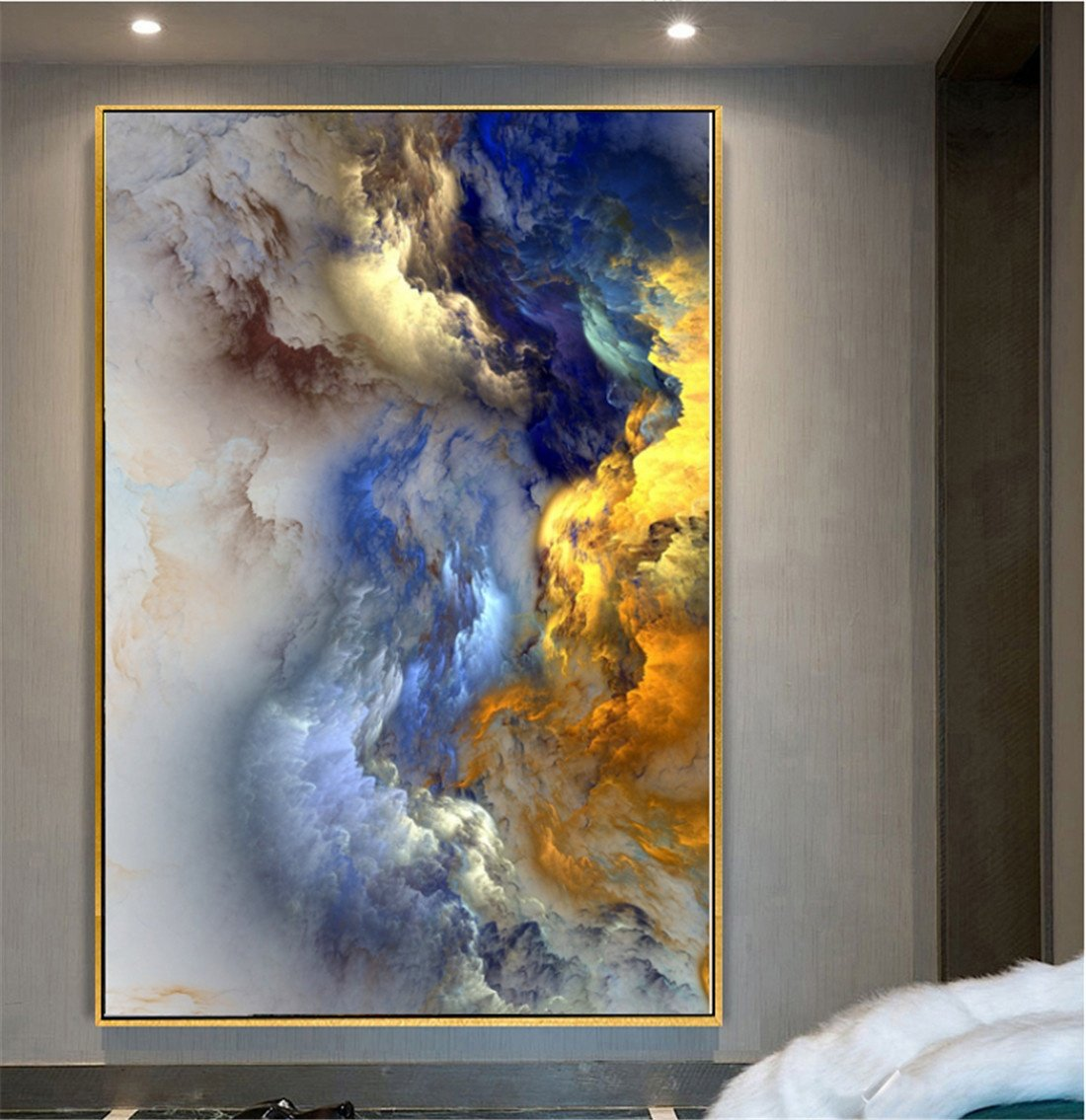 Barato MIWENNebulosa de Concha Dormitorio Moderno Restaurante Pinturas Pinturas Pinturas Murales Sala de Estar Pintura Decorativa Corredor Decorativo Pintura Abstracta (75  50cm) bcfea8