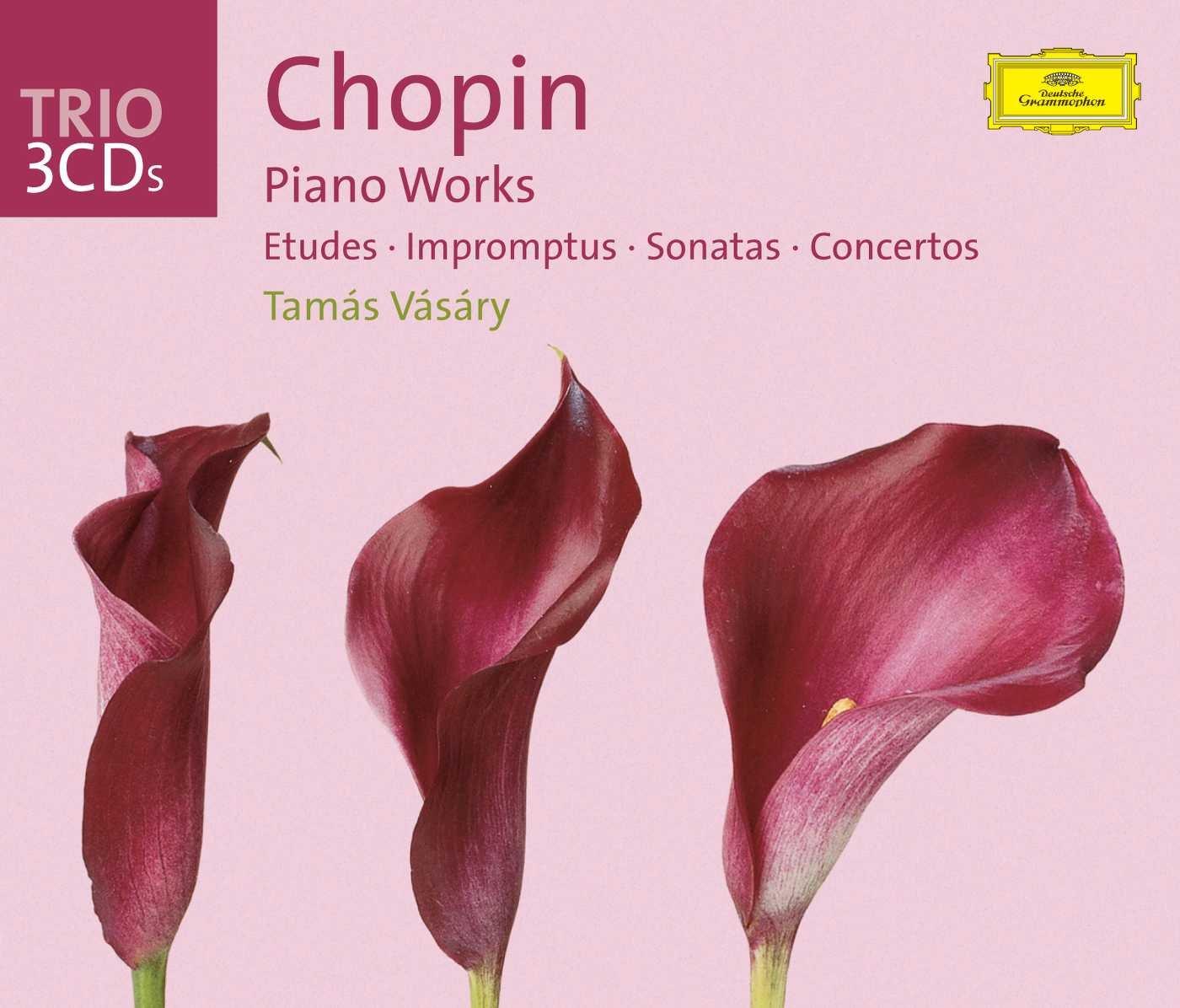 Chopin: Piano Works  [Etudes - Impromptus - Sonatas - Concertos - Mazurkas - Polonaise - Berceuse] by Deutsche Grammophon