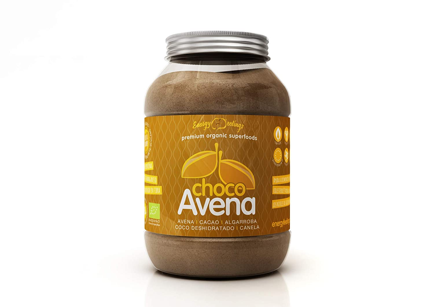 Energy Feelings Choco Avena Eco control de peso - 1,5 Kg: Amazon.es: Salud y cuidado personal