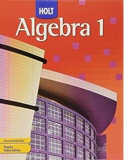 Algebra 1: Homework and Practice Workbook: RINEHART AND WINSTON ...
