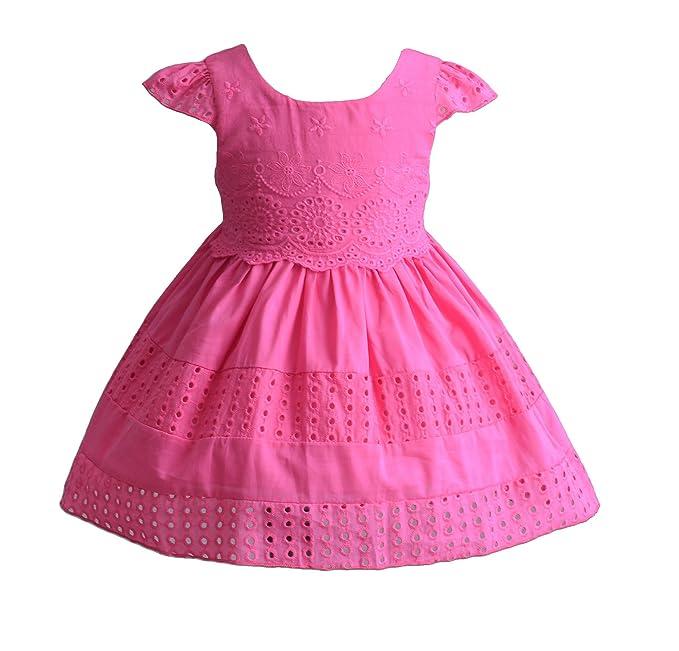 Cinda Bebé niñas manga corta algodón Vestido de verano vestido de ...