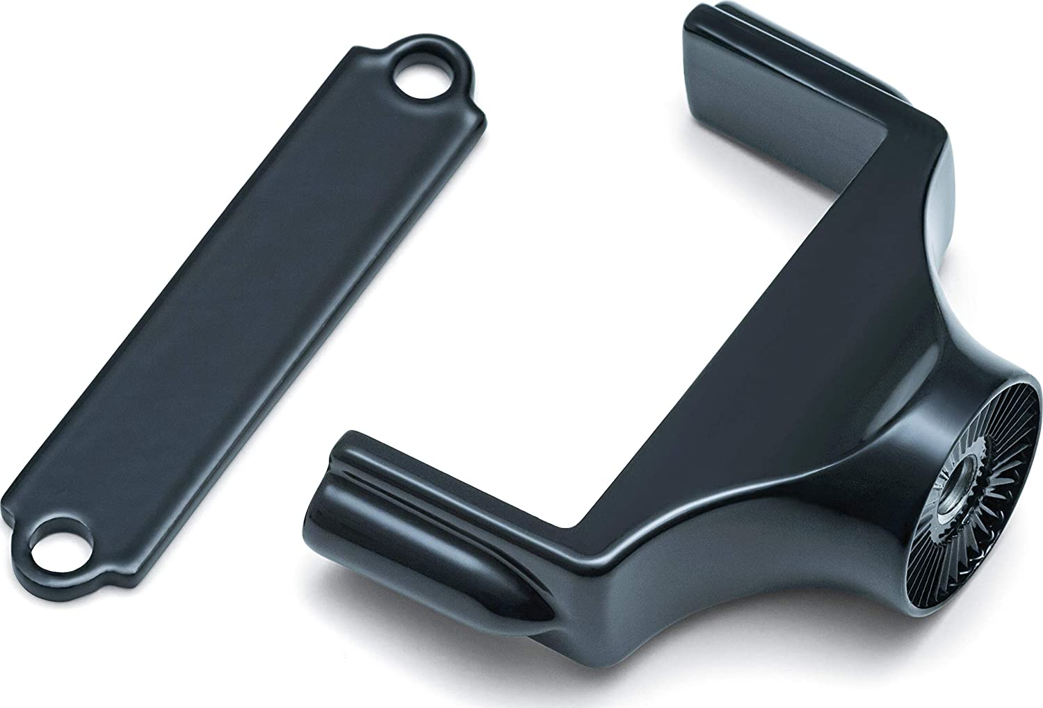 Gloss Black Kuryakyn 3195 Motorcycle Accessory Side Mount License Plate Holder Clamp for 2015-19 Harley-Davidson Street 500 /& 750 Motorcycles