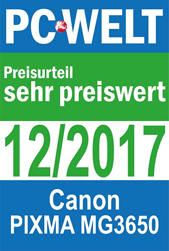 Canon PIXMA MG3650 Inyección de Tinta 4800 x 1200 dpi A4 WiFi ...
