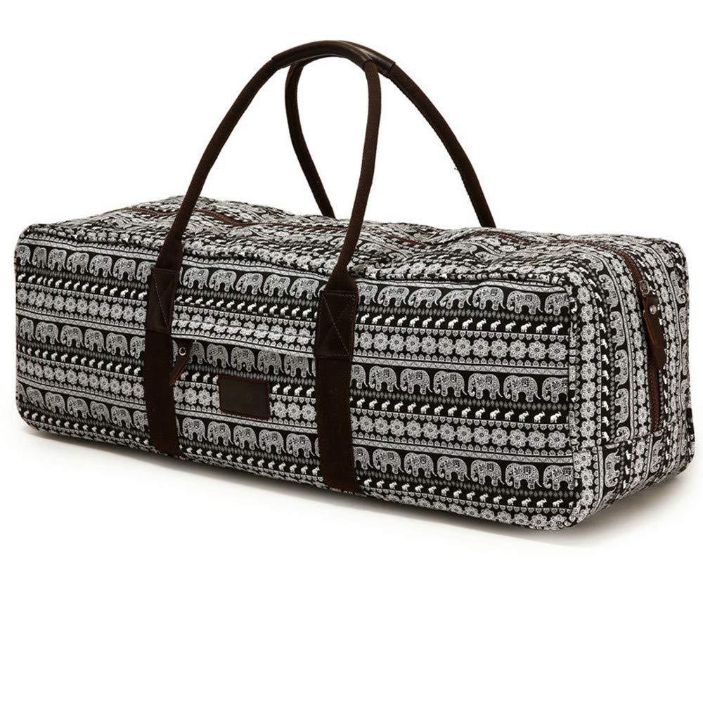 Guodanqing Sports Bag Fitness Bag Yoga Bag Large Capacity Portable Short-Distance Cylinder Travel Bag