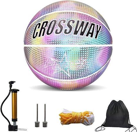 Baloncesto Luminoso Balones de Baloncesto Baloncesto Reflexivo ...