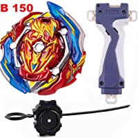 BEAU STUTI Battling Top Beyblades Burst GT B-150 Booster Union Achilles Cn.Xt+ Retsu Rise Starter Set Launcher + Grip Set Toys for Kids