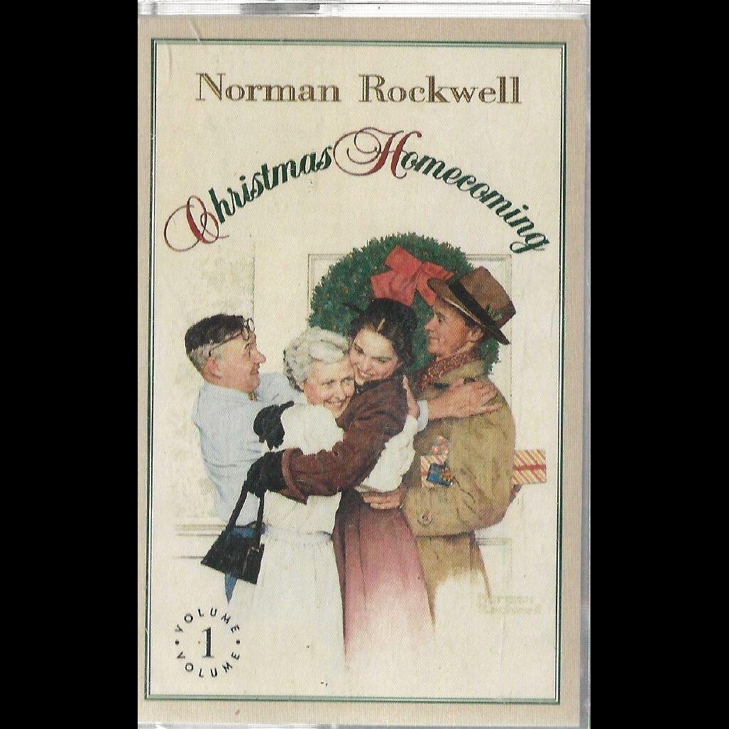 Christmas Homecoming Rockwell.Norman Rockwell Norman Rockwell Christmas Homecoming Vol