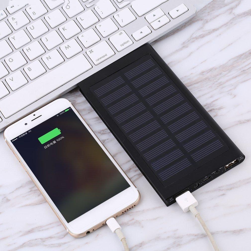 UNAKIM--Waterproof 300000mAh Portable Solar Panel Charger Dual USB Battery Power Bank X