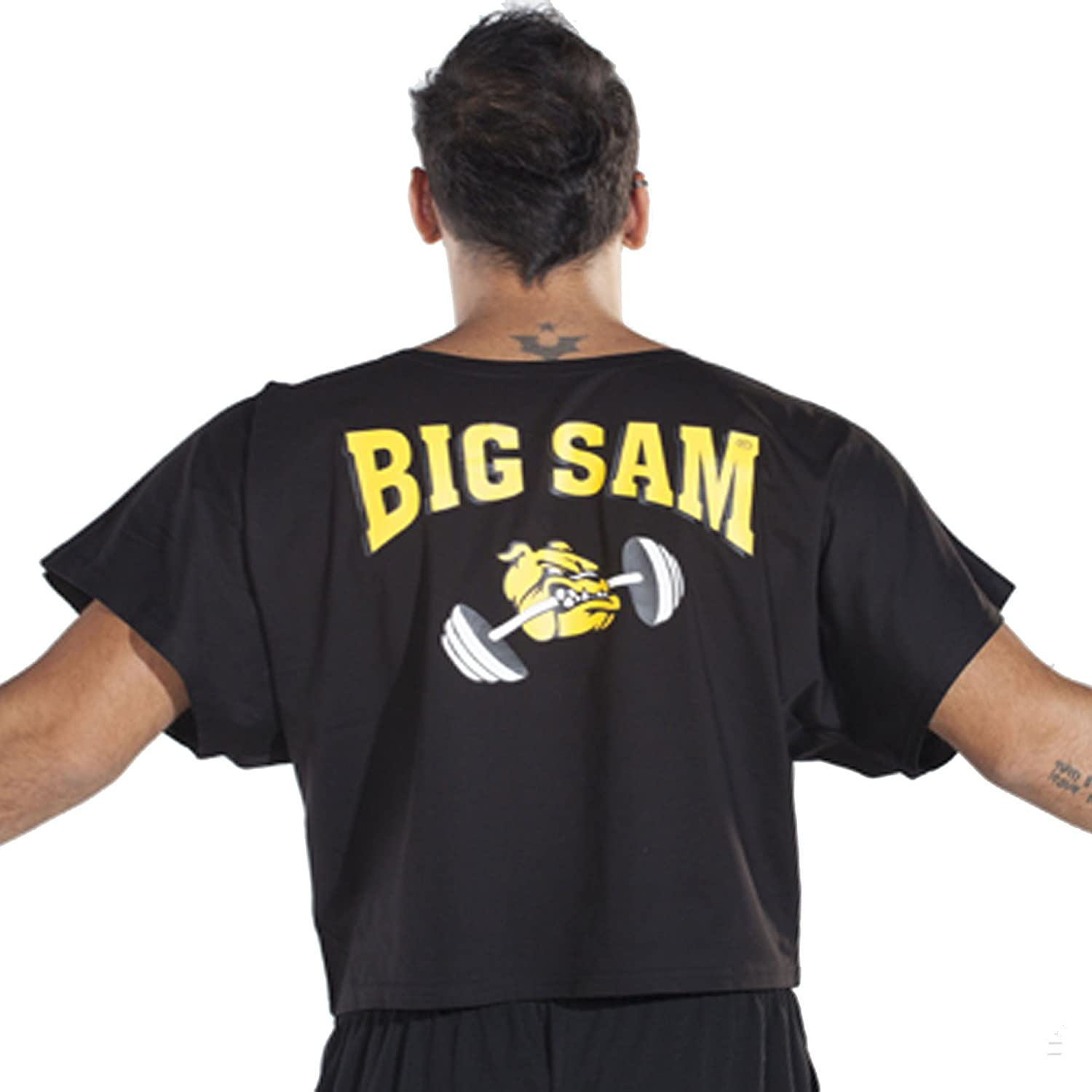 BIG SM EXTREME SPORTSWEAR Herren Ragtop Rag Top Sweater T-Shirt Bodybuilding 3082