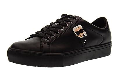 e86c41ee69d Image Unavailable. KARL LAGERFELD Kupsole Karl Ikonik Lo Lace Womens Sneakers  Black