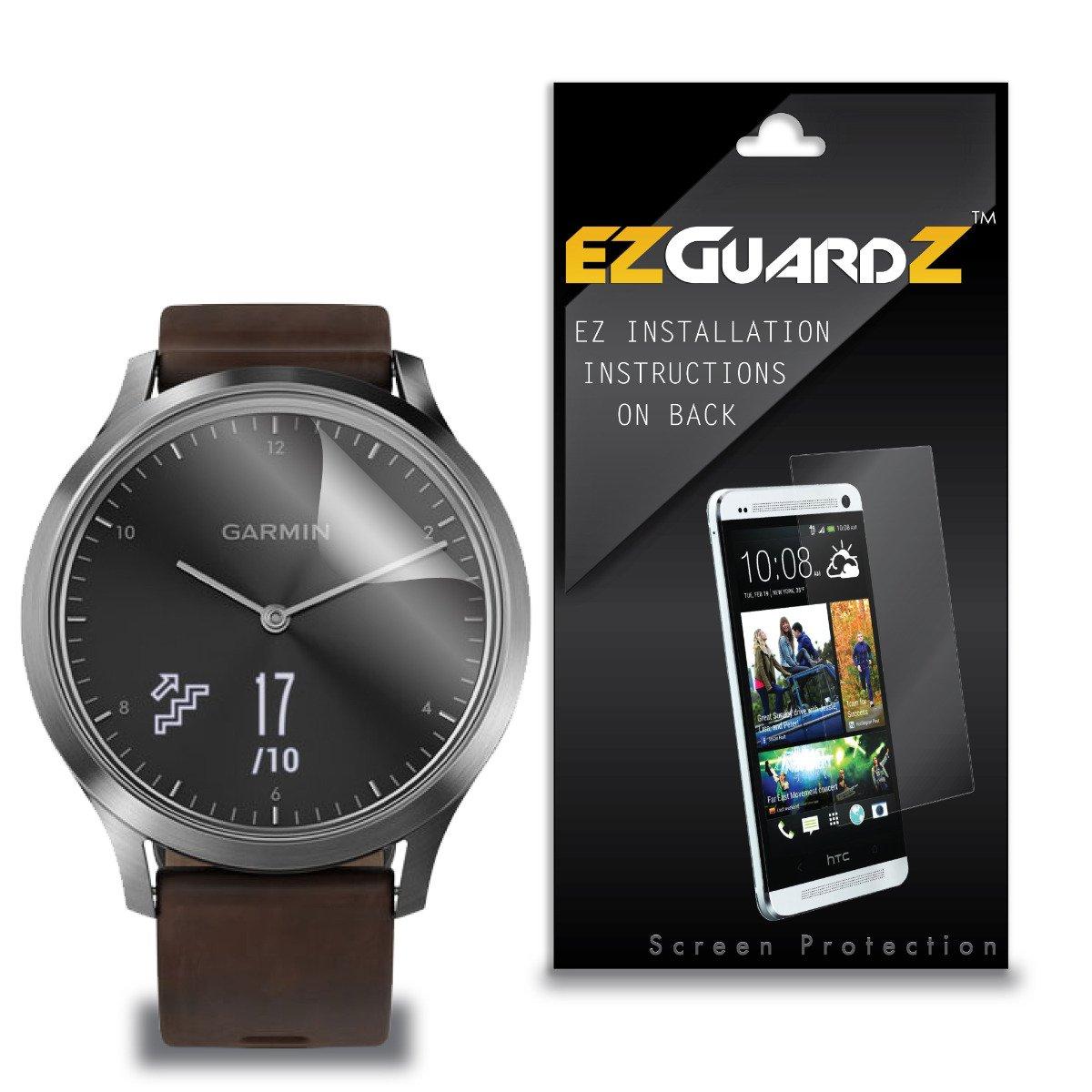(2-Pack) EZGuardZ Screen Protector for Garmin Vivomove HR Sport (Ultra Clear)