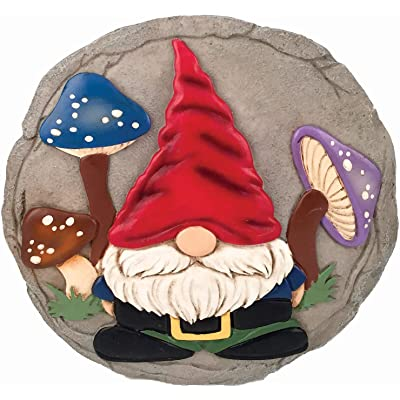 Spoontiques 13253 GNOME Stepping Stone, Orange: Home & Kitchen