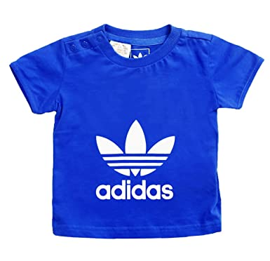 Kids Ac Blue Children Trefoil Originals Baby Logo Shirt T Adidas 5XOxwZ