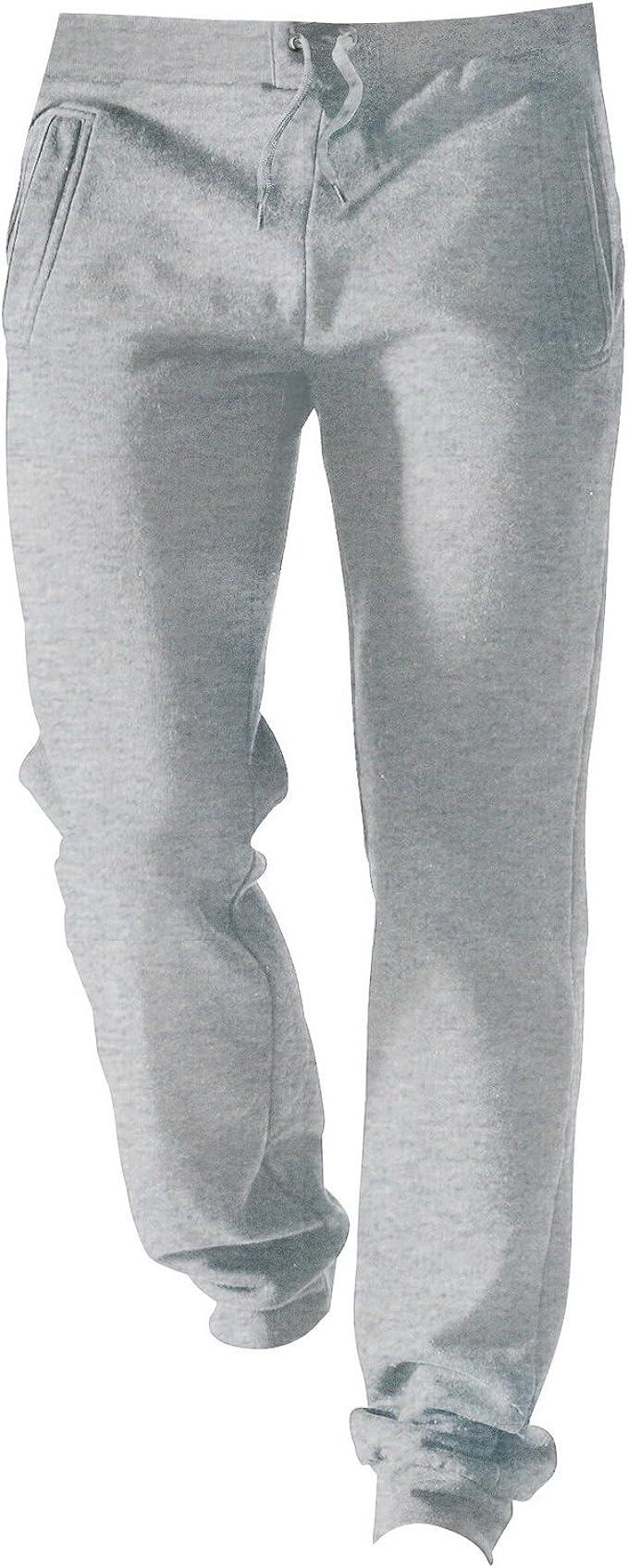 Kariban - Pantalones básicos de chandal Modelo Casual hombre ...