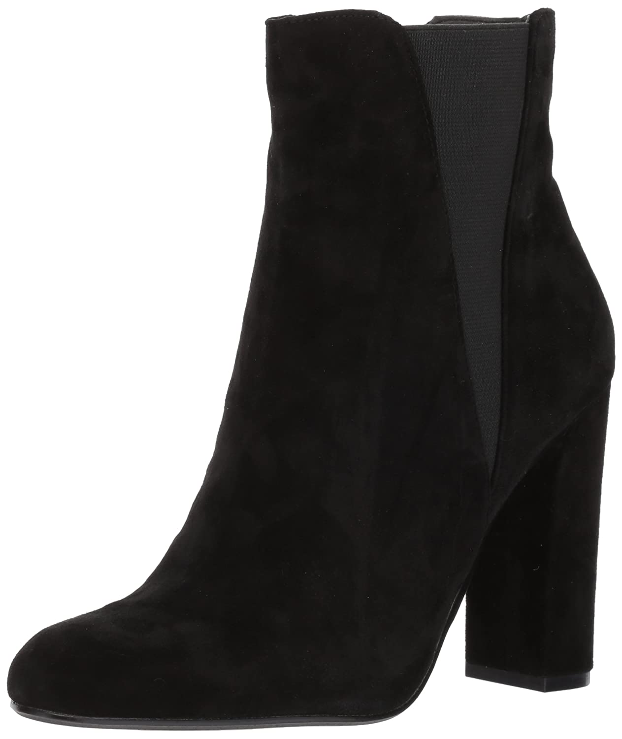 Steve Madden Women's Effect Ankle Boot B06XHFXL7H 6 B(M) US|Black Suede