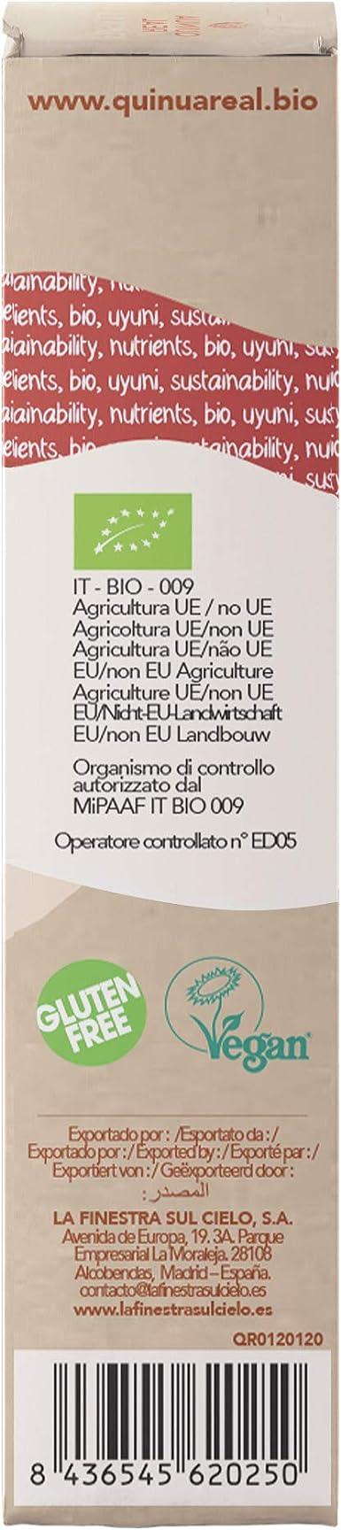 Penne de arroz y quinoa real bio gluten free - Quinua Real - 250g (caja 6 uds.) Total: 1500 g: Amazon.es: Alimentación y bebidas