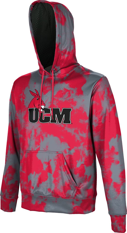 School Spirit Sweatshirt Grunge ProSphere University of Central Missouri Mens Pullover Hoodie