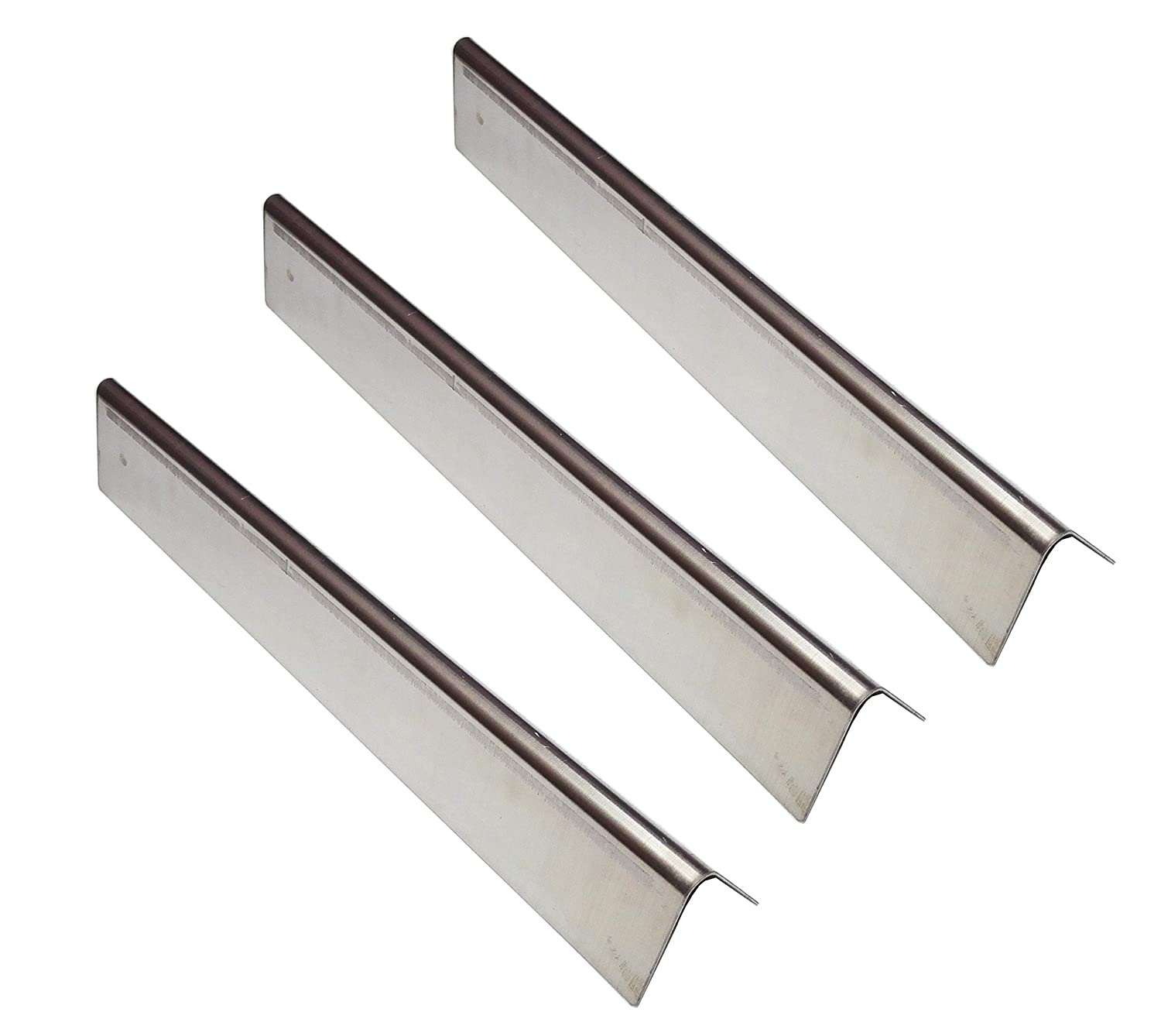 """Replace parts Stainless Steel Flavorizer Bars (16 Ga.) for Spirit 200 Series, Weber 7635 Gas Grills (Set of 3/15.3"""" x 3.5"""" x 2.5"""")"""