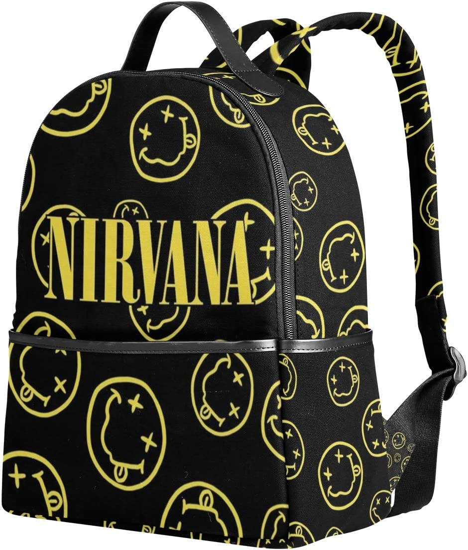 Nirvana Bookbags Cute Casual Backpack College Bags Women Daypack Travel Bag
