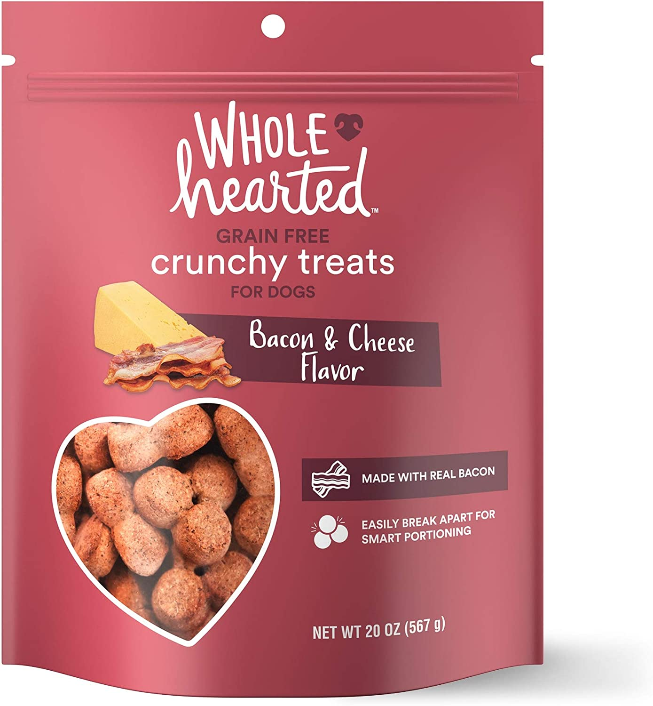 Petco Brand - WholeHearted Grain Free Bacon/Cheese Dog Treats, 20 oz.