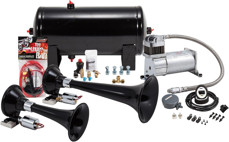 Kleinn Complete Dual Air Horn System for Trains