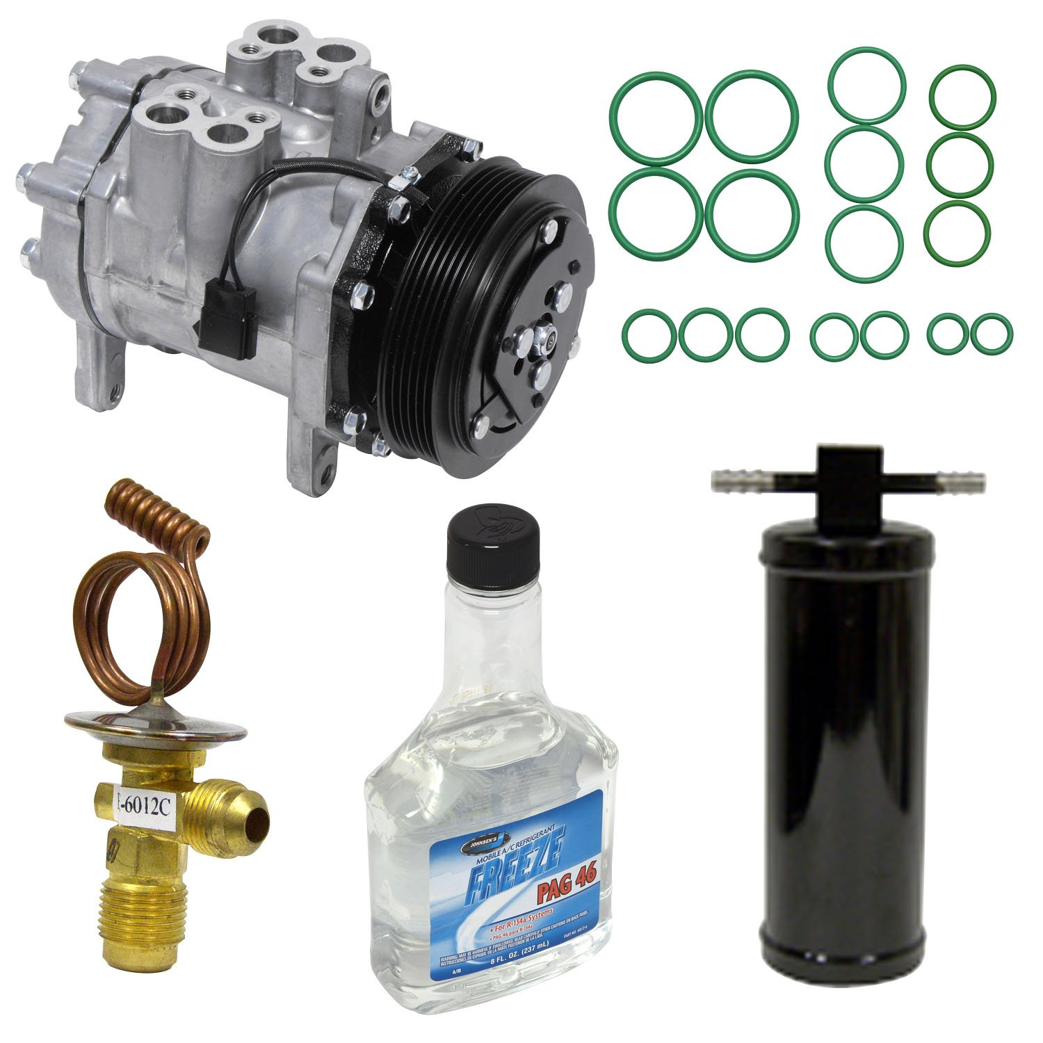 Amazon.com: Universal Air Conditioner KT 4550 A/C Compressor and Component Kit: Automotive