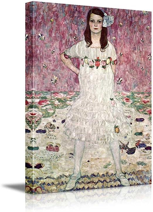 "16x24 Wall26 /""Eugenia Primavesi/"" by Gustav Klimt Canvas Art Home Decor"