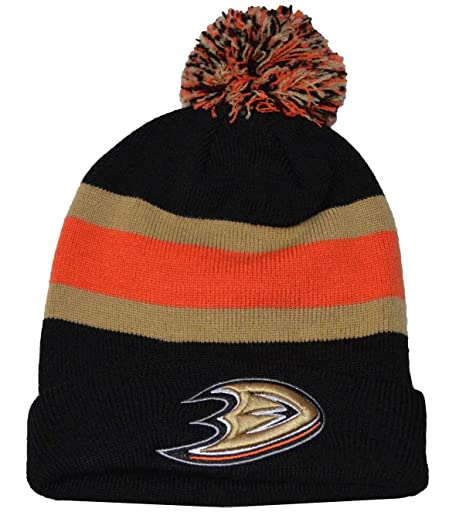 Image Unavailable. Image not available for. Color  Men s Anaheim Ducks  47  Brand Black Breakaway Knit Hat … 06802904e267