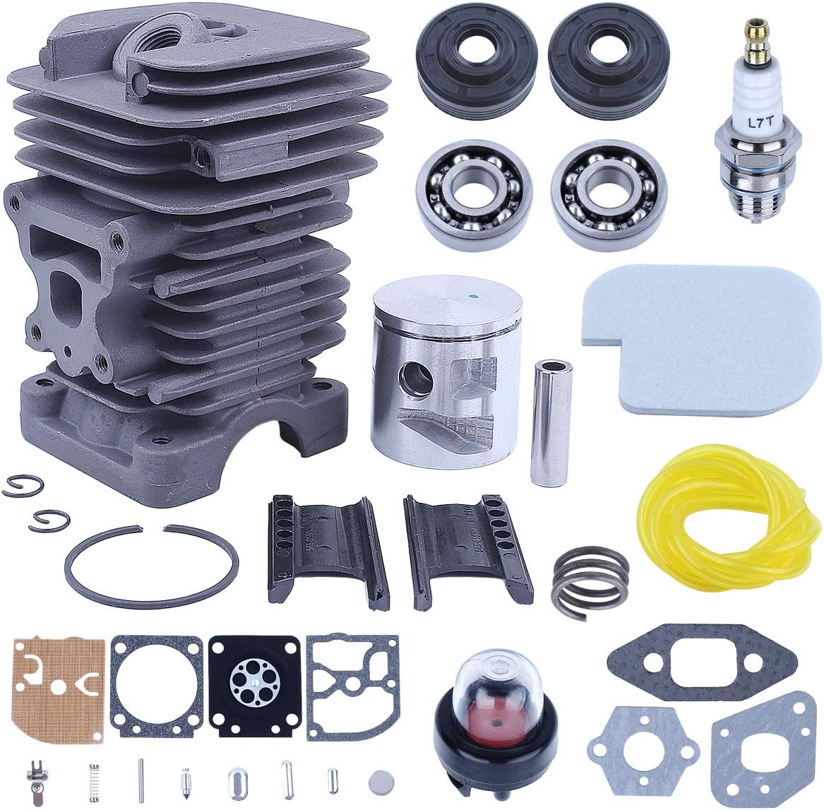2pcs Set Metal Clutch Drum Replaces Parts For Poulan P3314 P3516 P3816 Chainsaw
