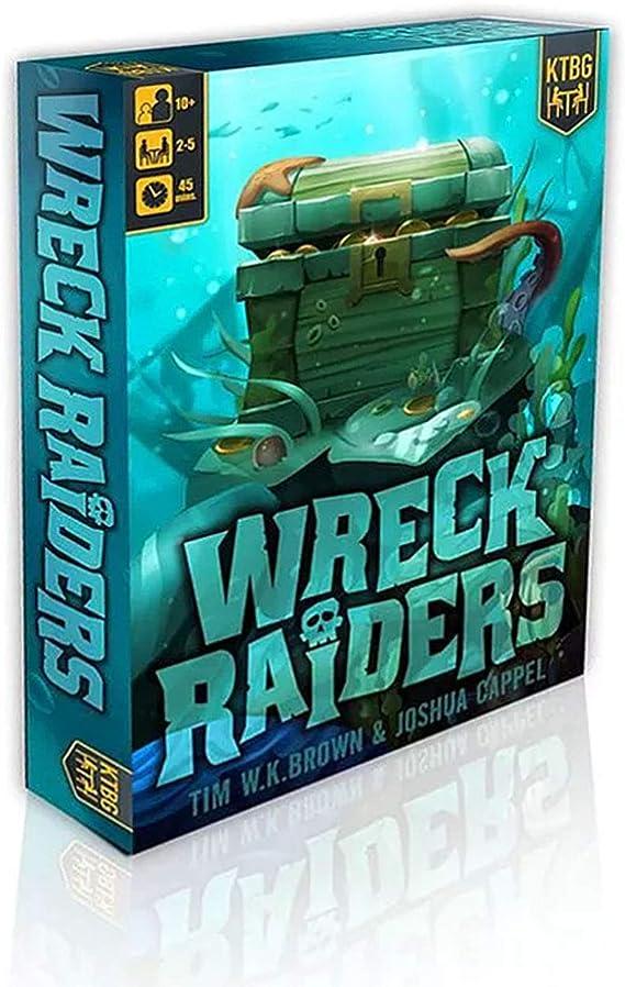 KidsT Wreck Raiders - Juego de Mesa [Inglés]: Amazon.es: Juguetes y juegos