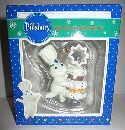 Amazon Com Trevco Pillsbury Dough Boy Holiday Ornament 2007 Home