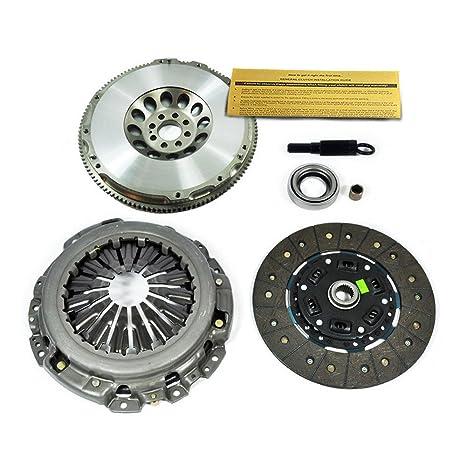 EFT HD Kit de embrague + cromo-molibdeno volante para Infiniti G35 Nissan 350z 3.5