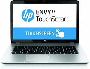 HP ENVY TouchSmart 17.3-inch Notebook PC (17-j141nr), 4th generation i7-4700MQ Processor 2.4GHz, 1TB HHD, Silver