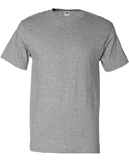 f265bd5d Amazon.com: Fruit of the Loom Men's Crew-Neck T-Shirt 5-Pack: Clothing