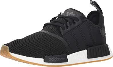 adidas Originals mens Nmd_r1 Shoe, Black/Black/White, 9.5 US
