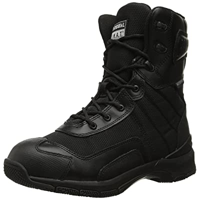 """Original S.W.A.T. Men's H.A.W.K. 9"""" Side Zip EN Black Military & Tactical Boot: Shoes"""