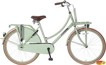 Bicicleta holandesa para mujer 26 pulgadas Plezier DDB pistacho ...