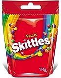 Skittles Gems Fruits Pouch, 174g