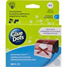 Glue Dots 11350 0.5 in. Glue Dots Permanent Sheets Value - Pack of 600