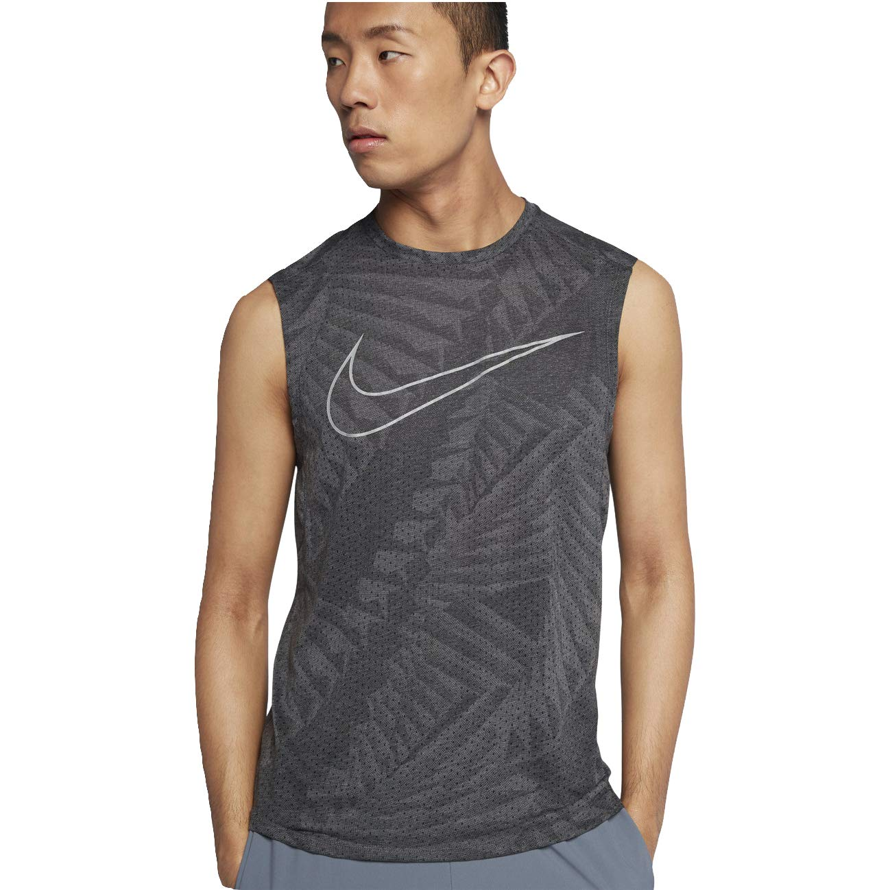 5054b5c0 Nike Tailwind Men's Running Logo Tank at Amazon Men's Clothing store:
