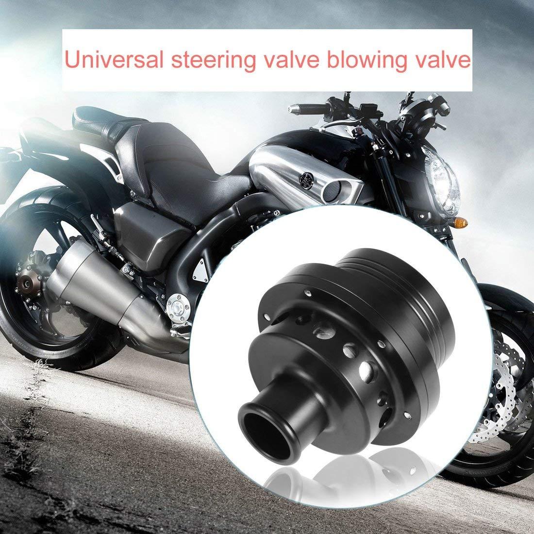 Válvula de descarga universal de 25 mm Válvula de descarga de pistón doble Bov y obturador de obturación Válvulas de descarga de recirculación del motor ...
