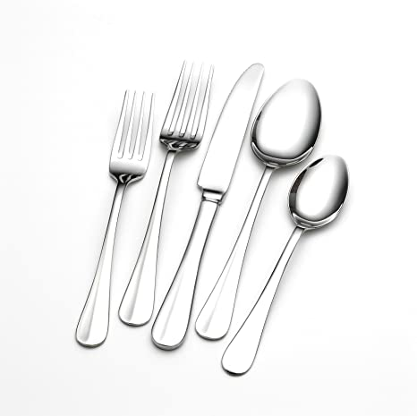 Amazon.com | Towle Living Hartford 101-Piece Flatware Set: Flatware Hostess Sets: Flatware Sets