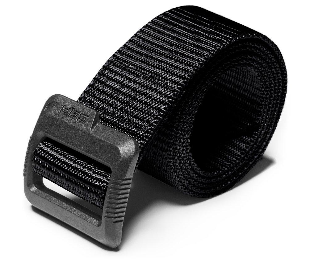 CQR CQ-MZT01-BLK_S(w28-30) Tactical Belt 100% Full Refund Assurance Nylon Webbing EDC Duty 1.5'' Belt MZT01