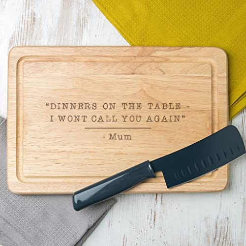 Personalised Mum Quote Chopping Board - Cooking gifts for mum - Gifts for Mum from daughter and son: Amazon.co.uk: Handmade