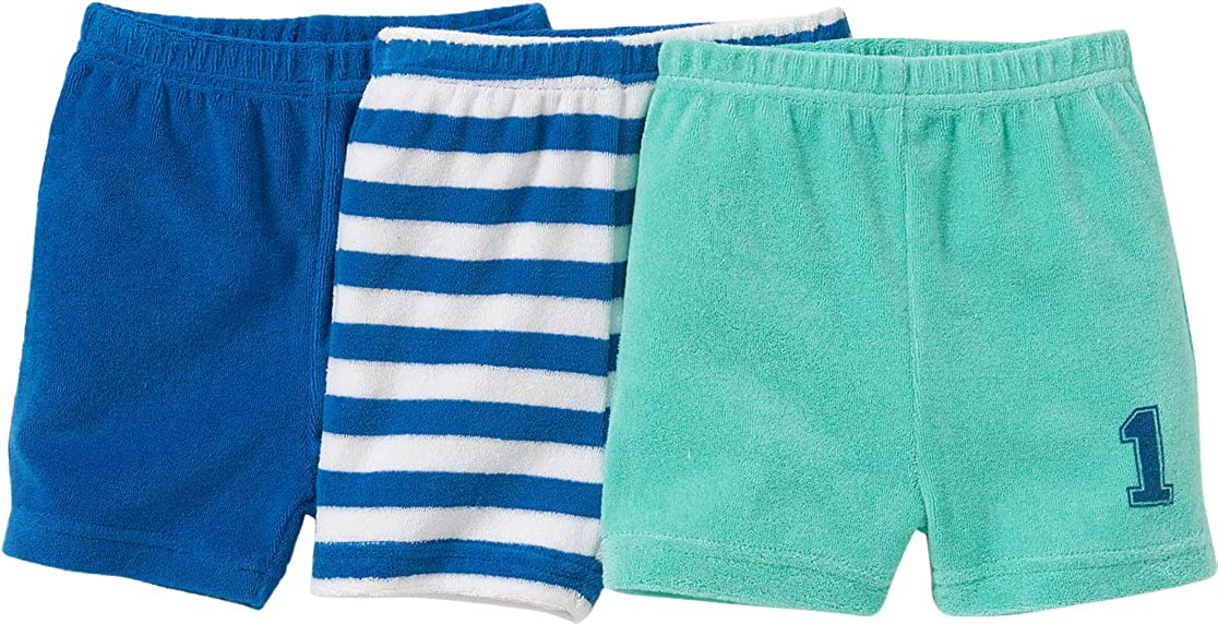 La Redoute Collections Big Boys Pack of 3 Stretch Towelling Shorts