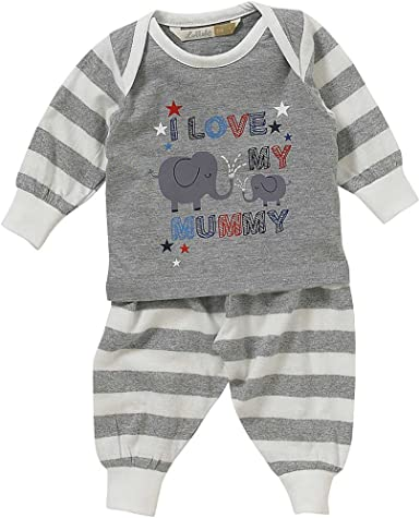 Lullaby Baby Boys Space Ships Rockets Stars Long Pyjamas