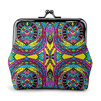 Psychedelic Cute Buckle Coin Purses Buckle Buckle Change Purse Wallets