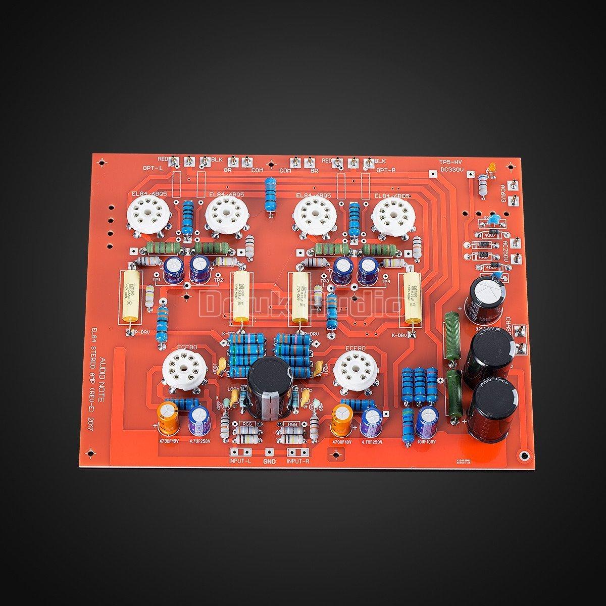Nobsound Stereo Hi Fi Push Pull El84 Vaccum Tube Elektronik 10w 6l6 Amplifier
